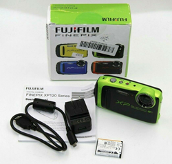 Picture of Fujifilm FinePix XP125 16.4MP Digital Camera (Lime) - For Parts or Repair #1103
