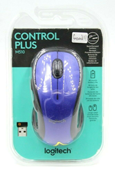 Picture of Logitech M510 Wireless Computer Mouse Blue #1111