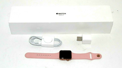 Picture of Used | Apple Watch Series 3 - 38mm - Gold Aluminum - Pink Sand Sport Band (S/M)