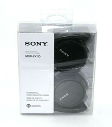Picture of Sony Genuine MDR-ZX110 Stereo On ear Swivel Headphones MDRZX110 - Black