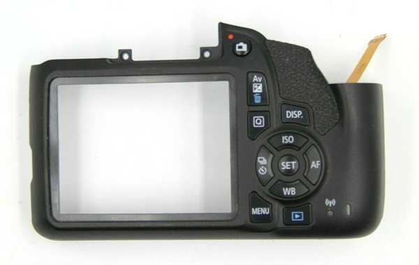 Picture of GENUINE Canon EOS Rebel T6 Back Rear Cover Assembly Repair Part