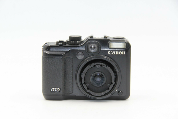 Picture of BROKEN Canon PowerShot G10 14.7 MP Digital Camera - Black (0156)