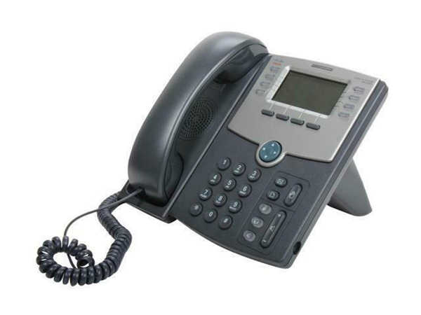 Picture of Cisco IP Phone SPA508G 8 Line VoIP Phone 2-Port Switch PoE LCD Display