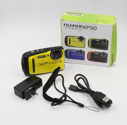 Picture of Broken Yellow Fujifilm FinePix XP90 Digital Camera #2037