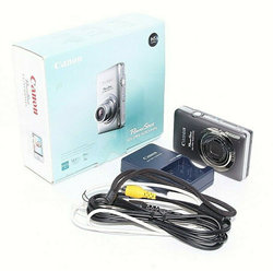 Picture of Broken Canon Powershot ELPH 100HS Digital Camera, Silver {12.1 M/P}