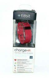 Picture of Open Box | Fitbit Charge HR Wireless Activity Wristband - Pink / Large | 1105