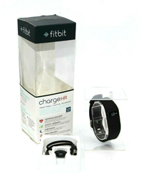 Picture of Open Box | Fitbit Charge HR Wireless Activity Wristband - Black / Large | 1105